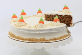 NEW! 9 in. Carrot Cake