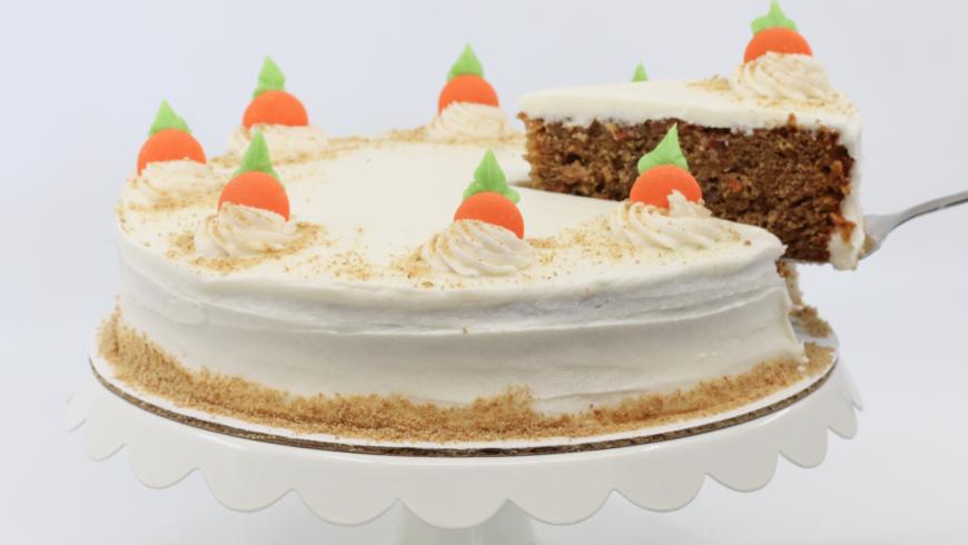 NEW! 9 in. Carrot Cake