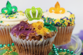 Mardi Gras King Cake And Cookies