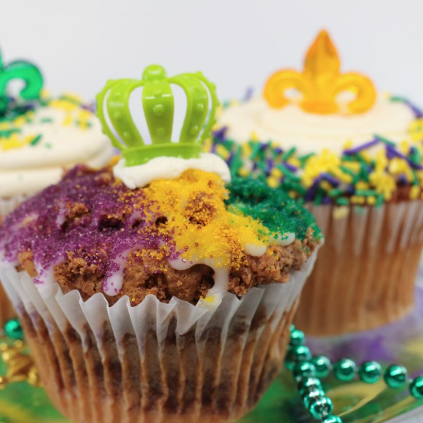 "Mardi Gras ""King Cake"" and Cookies"