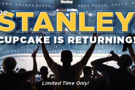 The Stanley Cupcake is BACK! Let's Go Blues!