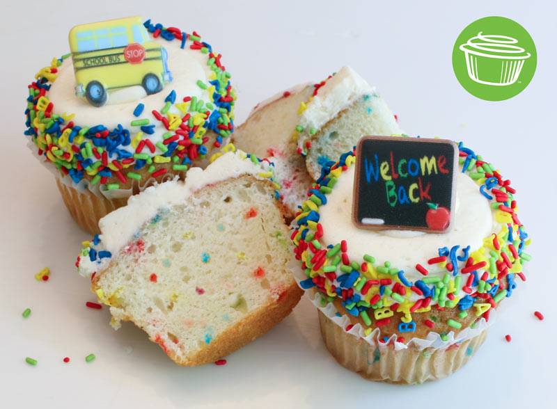 Back To School cupcake, benefiting Angels' Arms