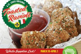 April Fools' Day 2021: Toasted Ravioli