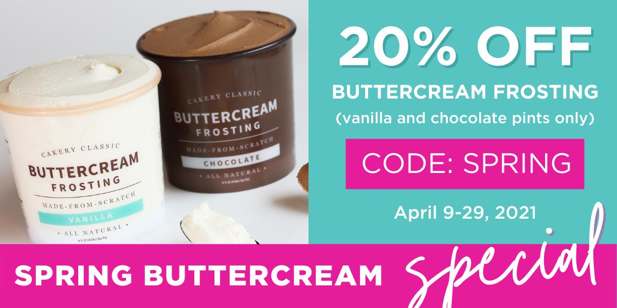 Spring Buttercream Special