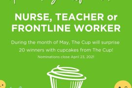 Nominate Your Favorite Nurse, Teacher or Frontline Worker