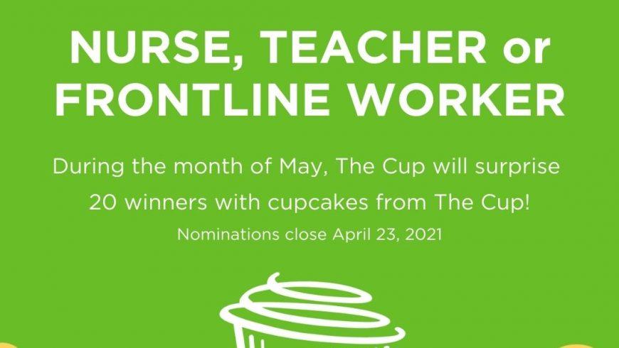 Nominate Your Favorite Nurse, Teacher or Frontline Worker